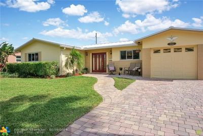 Coconut Creek Single Family Home For Sale: 4440 NW 7th St