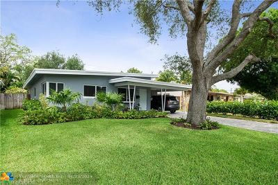 Fort Lauderdale Single Family Home For Sale: 1633 NE 16th Ave