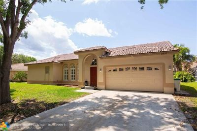 Coconut Creek Single Family Home For Sale: 5851 NW 40th Ln