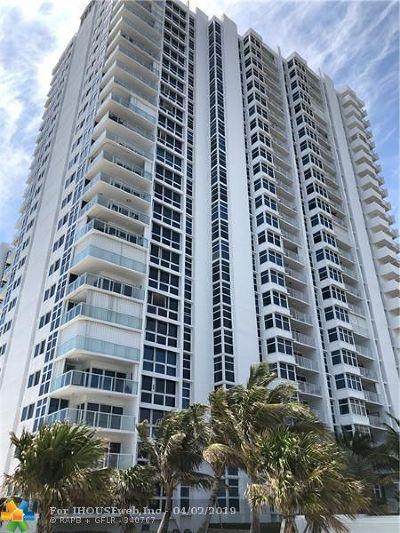 Pompano Beach Condo/Townhouse For Sale: 1360 S Ocean Blvd #2405