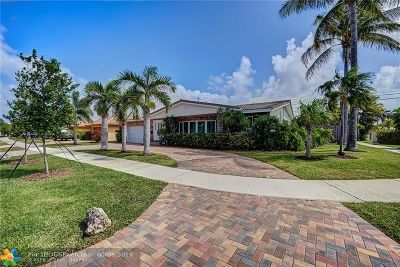 Fort Lauderdale Single Family Home For Sale: 2152 Imperial Point Dr