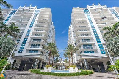 Fort Lauderdale Condo/Townhouse For Sale: 2831 N Ocean Blvd #607N
