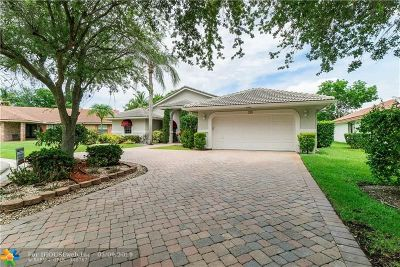 Coral Springs Single Family Home For Sale: 255 NW 122nd Ave