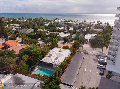 Lauderdale Beach Single Family Home For Sale: 2905 Center Ave
