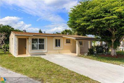 Delray Beach Single Family Home Backup Contract-Call LA: 1417 SW 4th St