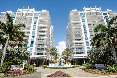 Fort Lauderdale Condo/Townhouse For Sale: 2831 N Ocean Blvd #907N