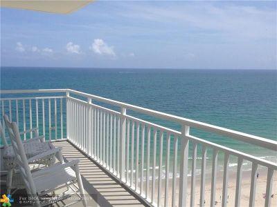 Rental For Rent: 3750 Galt Ocean Dr #1101