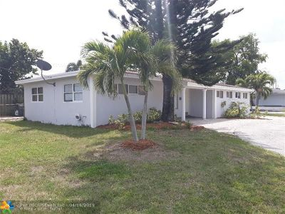 Oakland Park Single Family Home For Sale: 650 NW 39th St