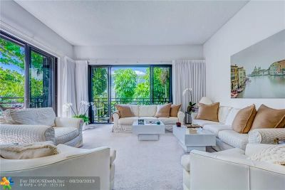 Fort Lauderdale Condo/Townhouse For Sale: 1686 S Ocean Ln #263