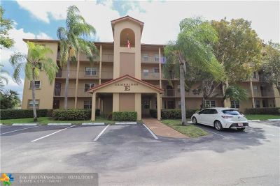Pembroke Pines Condo/Townhouse For Sale: 1201 SW 128th Ter #413