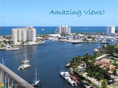 Fort Lauderdale Condo/Townhouse For Sale: 2500 E Las Olas Blvd #PH-5