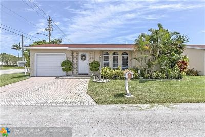 Deerfield Beach Single Family Home Backup Contract-Call LA: 4920 NW 14th Ter