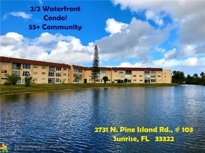 Sunrise Condo/Townhouse For Sale: 2731 N Pine Island Rd #103