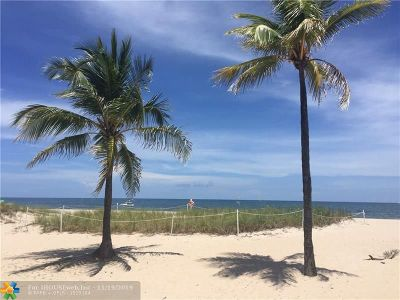 Lauderdale By The Sea Condo/Townhouse For Sale: 4540 N Ocean Dr. #306