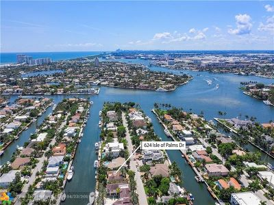 Fort Lauderdale Single Family Home For Sale: 624 Isle Of Palms Dr