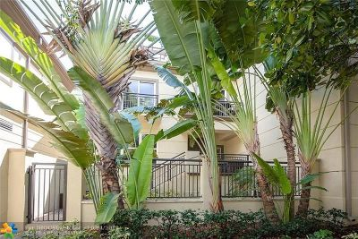 Wilton Manors Condo/Townhouse For Sale: 2601 NE 14th Ave #100