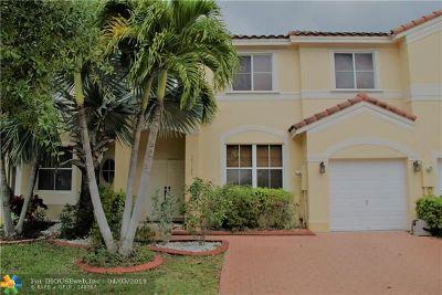 Miramar Condo/Townhouse Backup Contract-Call LA: 17107 SW 38th St