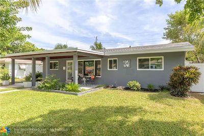 Pompano Beach Single Family Home For Sale: 804 NE 5th Ave