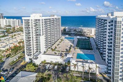 Pompano Beach Condo/Townhouse For Sale: 531 N Ocean Blvd #804
