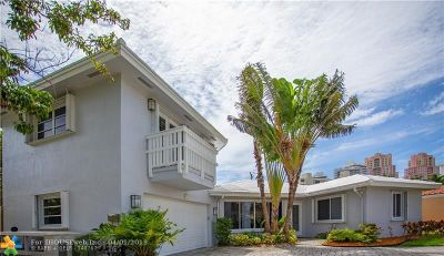 Fort Lauderdale Single Family Home For Sale: 2412 NE 32nd Ave
