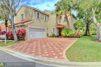 Boca Raton Single Family Home For Sale: 22360 Overture Cir