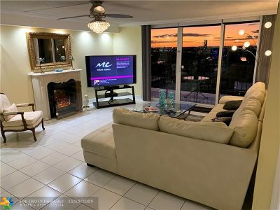 Hallandale Condo/Townhouse For Sale: 2030 S Ocean Dr #2027