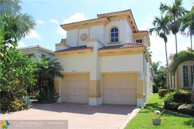 Coral Springs Single Family Home For Sale: 5865 NW 124th Way
