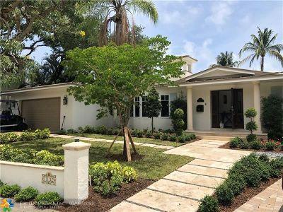 Fort Lauderdale Single Family Home For Sale: 1132 S Rio Vista Blvd