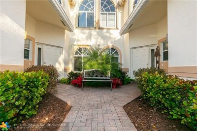 Pompano Beach Condo/Townhouse For Sale: 576 W Palm Aire Dr #576