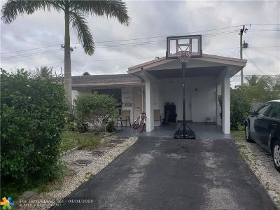 Lauderdale Lakes Single Family Home For Sale: 3508 NW 35th St