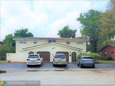 Coral Springs Multi Family Home For Sale: 4350 NW 80th Ave