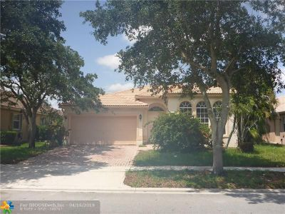 Pembroke Pines Single Family Home For Sale: 13067 NW 18th Ct