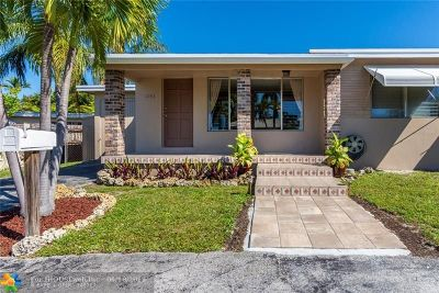 Wilton Manors Single Family Home For Sale: 1743 NE 27th St