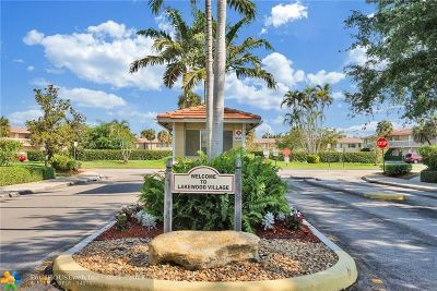 Coral Springs Condo/Townhouse Backup Contract-Call LA: 10064 Twin Lakes Dr #38-B