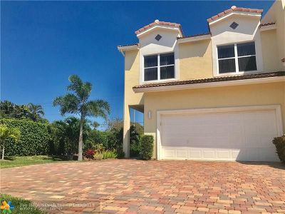 Boca Raton Condo/Townhouse For Sale: 4260 NE 5th Ave #4260