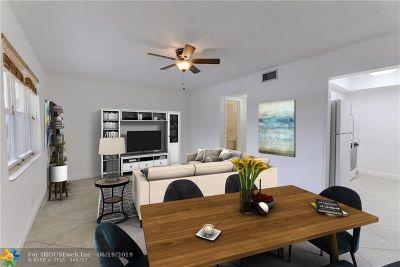 Pompano Beach Condo/Townhouse For Sale: 3252 NE 13th St #8
