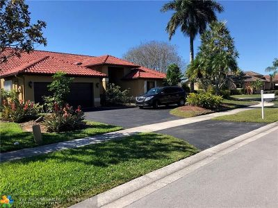Plantation Single Family Home For Sale: 1191 NW 100th Way