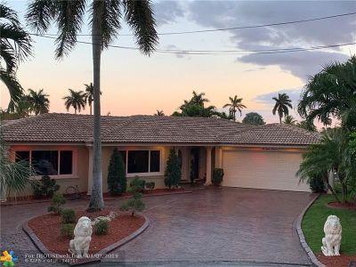 Fort Lauderdale Single Family Home For Sale: 5800 NE 14th Ter