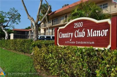 Coral Springs Condo/Townhouse For Sale: 2500 Coral Springs Dr #303