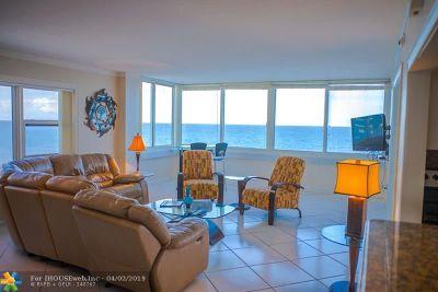 Condo/Townhouse For Sale: 4040 Galt Ocean Dr #718