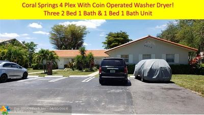 Coral Springs Multi Family Home For Sale: 9010 NW 38th Dr