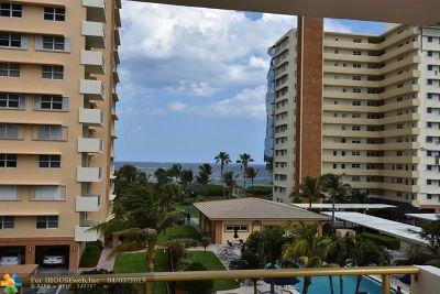 Pompano Beach Condo/Townhouse For Sale: 1630 N Ocean Blvd #314