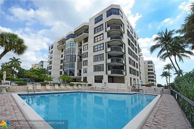 Hillsboro Beach Condo/Townhouse For Sale: 1155 Hillsboro Mile #606