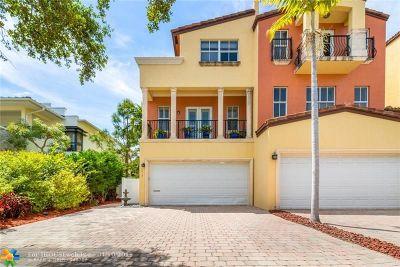 Fort Lauderdale Condo/Townhouse For Sale: 1419 NE 26th Av