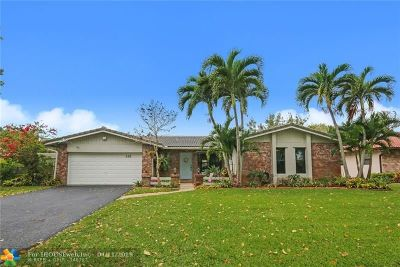 Coral Springs Single Family Home For Sale: 268 NW 89th Ave