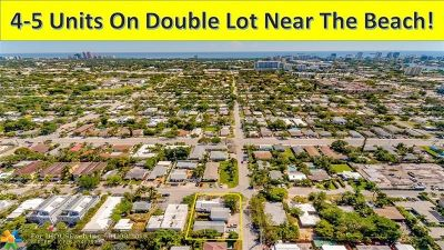 Fort Lauderdale Multi Family Home For Sale: 1201 NE 14th Ave