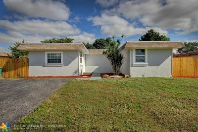Tamarac Single Family Home For Sale: 7902 NW 68th Ave