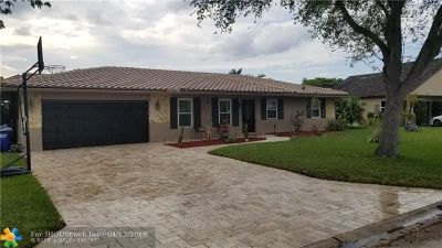 Coral Springs Single Family Home For Sale: 2460 NW 115th Ave