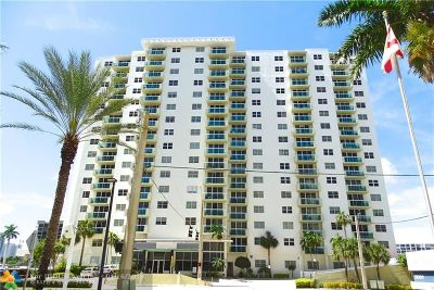 Broward County Condo/Townhouse For Sale: 3000 S Ocean Dr #322