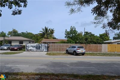 Pompano Beach Single Family Home For Sale: 2510 NE 3rd Ave